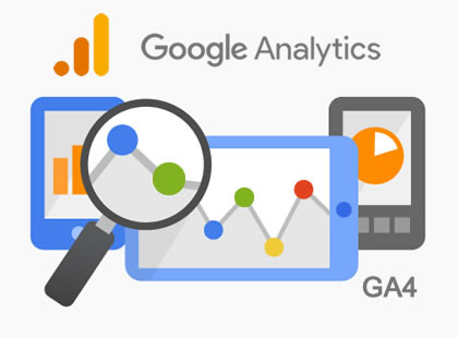 Professional Service web analytics through Google Analytics.